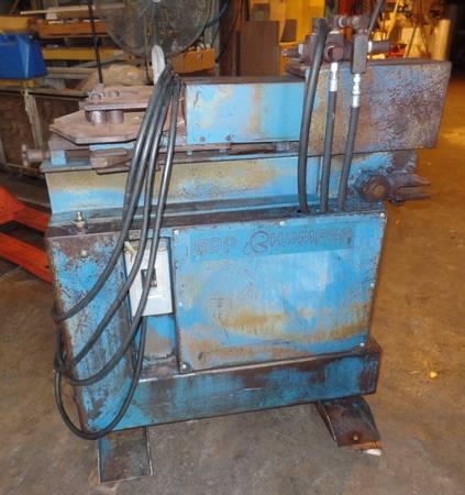 Photo Rebar Hydraulic Cutter Bender Rod Chomper - $2,250 (Richmond)