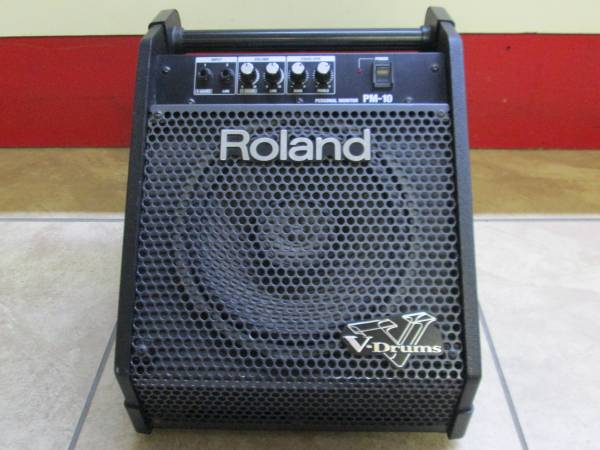 Photo Roland PM-10 V-Drums MonitorAmp for Electronic Drums - $175 (2203 Brook Rd)