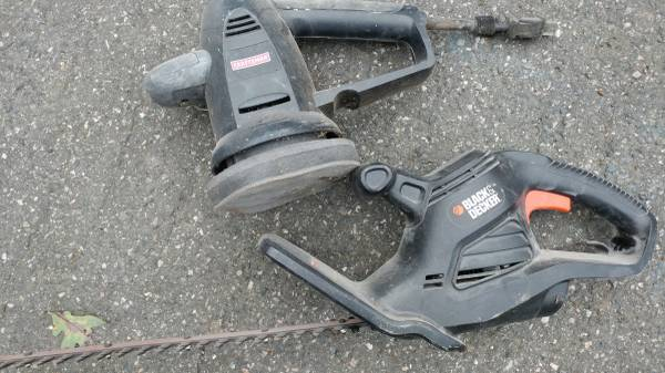 Photo Sander Hedge Trimmer Black Decker Craftsman - $65 (Stratford Hills)