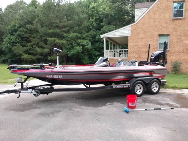 Photo Skeeter zx250 bass boat - $45,000 (Prince George, va)