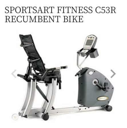 Photo Sports Art C53R Recumbent Stationary Exercise Bike Cycle - $1,400 (Glen Allen, VA)