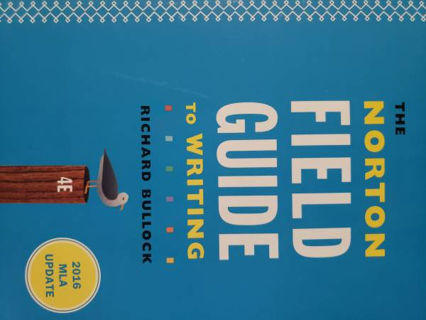 Photo The Norton Field Guide to Writing - $15