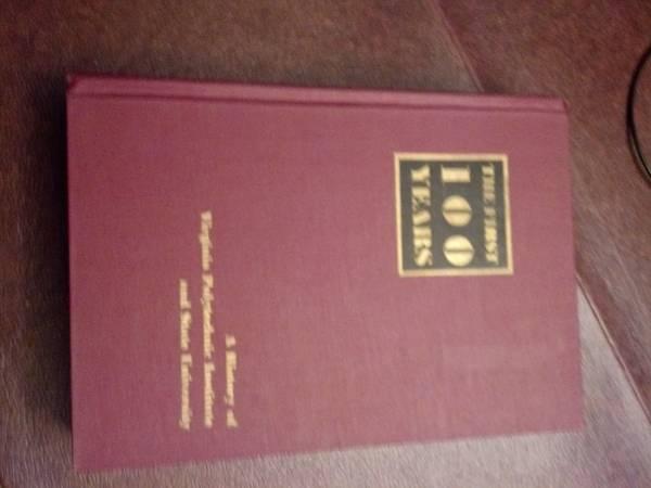 Photo VA TECH - The First 100 Years - 1972 - $20 (Midlothian)