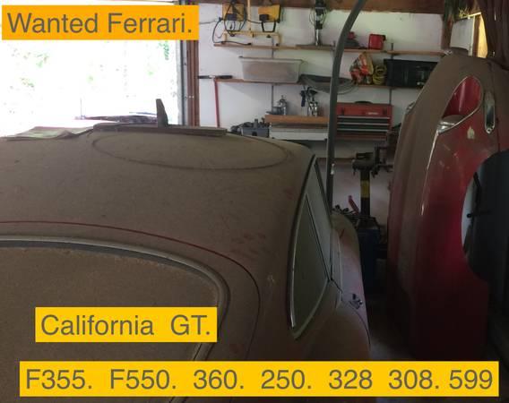 Photo Wanted Porsche Bmw Viper Mercedes DMC - $85,000 (Chesterfield)