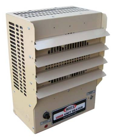 Photo Warehouse Commercial Garage HEATER Indeeco ELECTRIC 7.5 KW 480 3 PHASE - $150 (12637 Wilfong Dr Midlothian, VA)