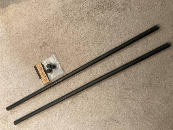 Photo Yakima Roof Rack Round Cross Bars (pair) - $35 (Brandermill)