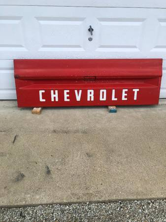 Photo 1971 Chevy Pickup tailgate - $1,200 (CONNERSVILLE)