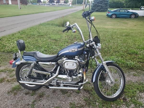 Photo 2003 Anniversary Edition Harley Sportster 1200 - $5,000 (Kenton)