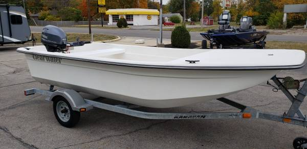 Photo 2016 CLEARWATER 1600 SKIFF  40 YAMAHA 4-STROKE  TRAILER - $6,900 (Anderson IN.)