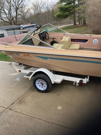 Photo Boat and trailer for sale Mark Twain ) - $2,000 (Indianapolis)