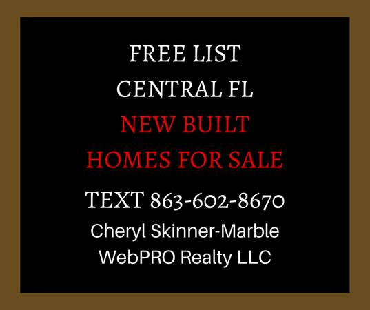 Photo CENTRAL FL - NEW HOMES FOR SALE - Between Ta and Orlando (Winter Haven  Kensington View)