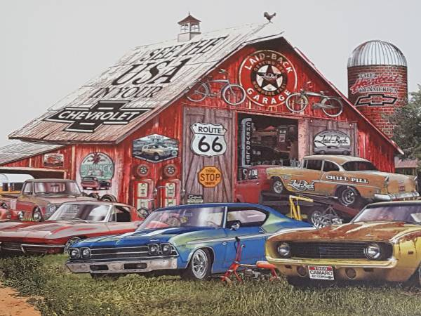 Photo Chevy Lovers Pictured - $45 (55 Chevy 69 camaro 69 Chevelle)