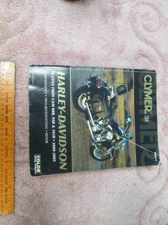 Photo Clymer Harley manual 2000-2005 - $20 (Kokomo)
