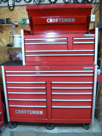 Photo Craftsman tool boxes with some tools - $2,500 (Laurel, IN)