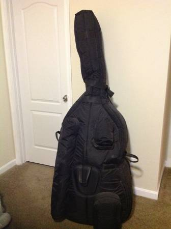 Photo For sale MOORIDIAN professional bag for upright bass 34 or 44 - $400 (Western hills)