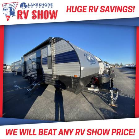 Photo Forest River Cherokee Grey Wolf 23DBH Travel Trailer RV LOW PAYMENTS - $21,890