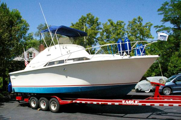 Photo Sale or trade 28 boat Pacemaker Sportsfisherman - $9,000 (Brownsburg)
