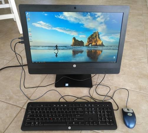 Photo Super fast HP i3 All-In-One computer runs great, Windows 10  Office - $200 (Mason)