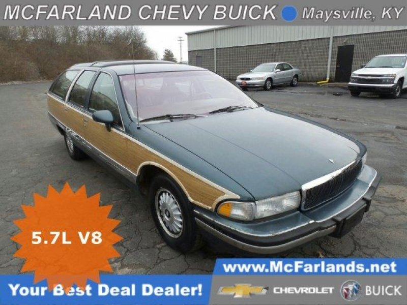 Photo Used 1993 Buick Roadmaster Estate Wagon for sale