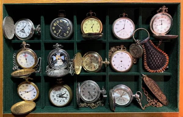 Photo Vintage, Collectible Pocket Watches (Richmond)