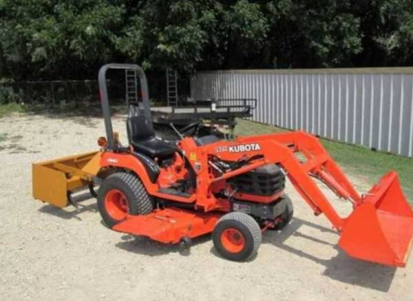 Photo best service completed utility tractor Belly Mower - $1,010 (Wayne)