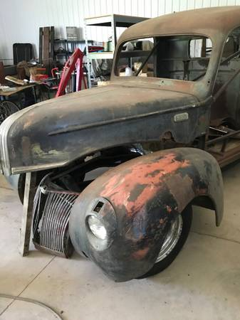 Photo 1940 Ford Pickup Project - $4500 (Winona)