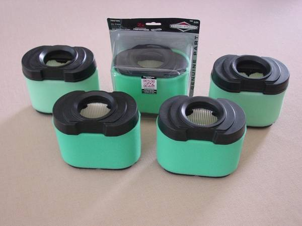 Photo 5 New Air Filters for Briggs  Stratton Lawn Mower Garden Tractors - $30 (Rochester)