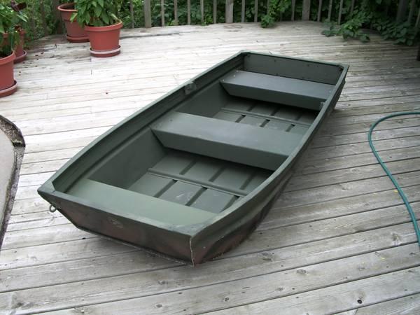 8 foot aluminum Jon Boat DUCK HUNTER - $400 (Winona) | Sports