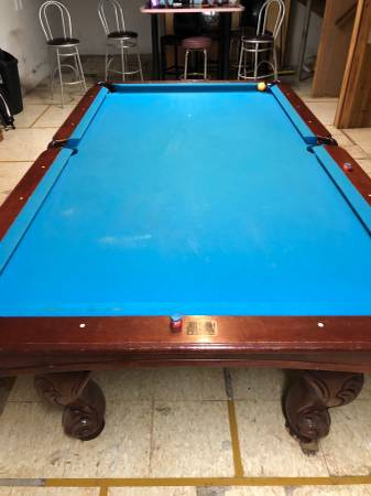 Photo 8ft Kasson pool table - $800