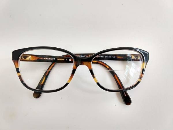 Photo Coach Womens Eyeglass Frames in Leather Case - $40 (Downtown Rochester)
