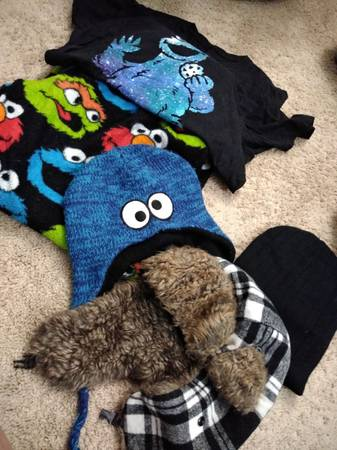 Photo Cookie monster stuff - $50 (Rochester)