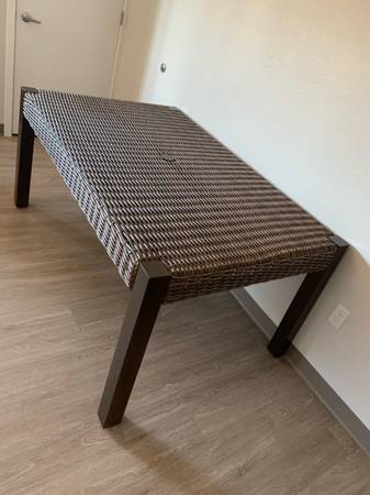 Photo Dining table for 6- Pier 1 ImportsFinal Price  - $100 (Rochester)