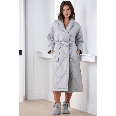 Photo Down Robes and Slippers, Size S. NEW, by The Company Store - $120 (Downtown Rochester)
