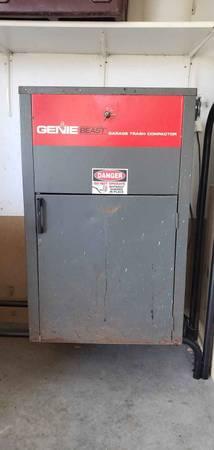 Genie Beast Garage Trash Compactor 50 Tools For Sale