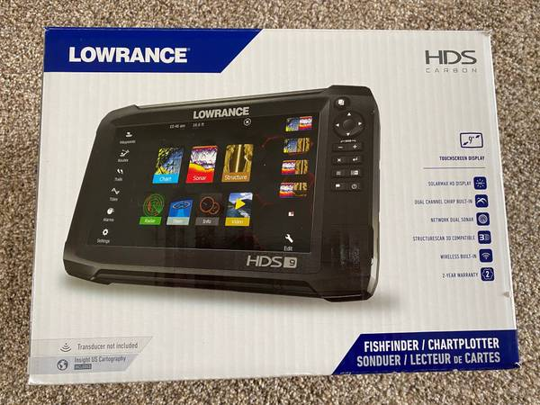 Photo Lowrance HDS Carbon 9 - $800 (St. Charles)