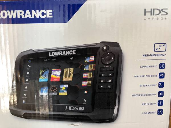 Photo New Lowrance HDS 7 Carbon Active Imaging Transducer - $800 (Rochester)