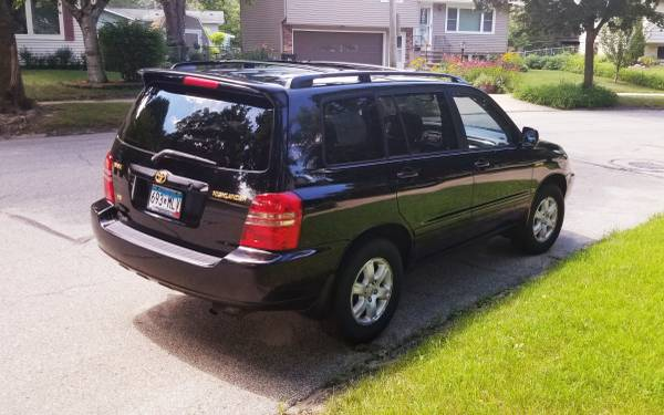 Photo Toyota 2002 Highlander - $5,750 (Rochester)