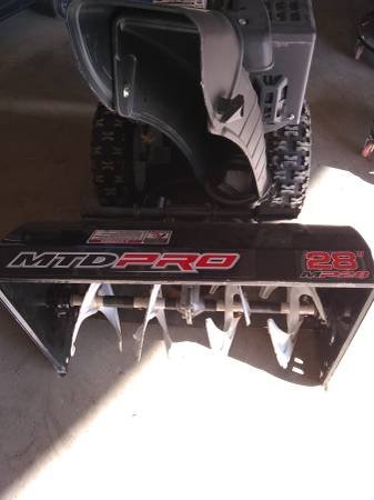 Photo Two stage snow blower - $475 (Se mn)