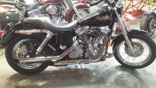 Photo 1998 Harley Dyna Superglide - $5,900 (Winston-Salem)