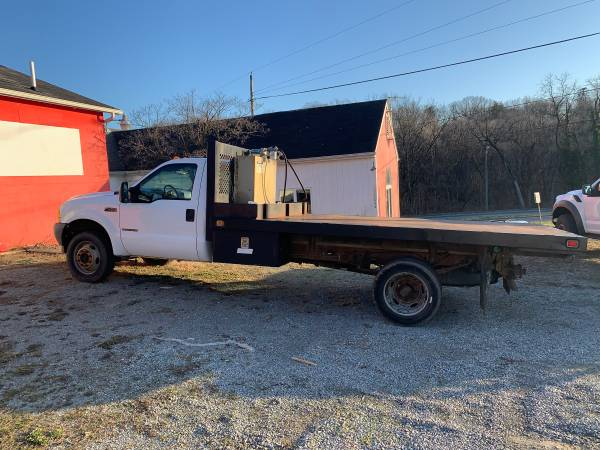 Photo 2001 Ford F-450 4x4 flatbed - $11999 (Roanoke)