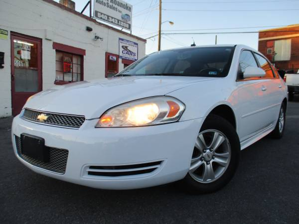 Photo 2013 Chevy Impala LS Hot Deal  Clean carfarx - $4990 (Roanoke)