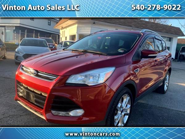 Photo 2014 Ford Escape Titanium 4WDExtra CleanFully Loaded52K - $10995 (Vinton Auto Sales LLC (2446 E Washington Ave Vinton VA 24179)