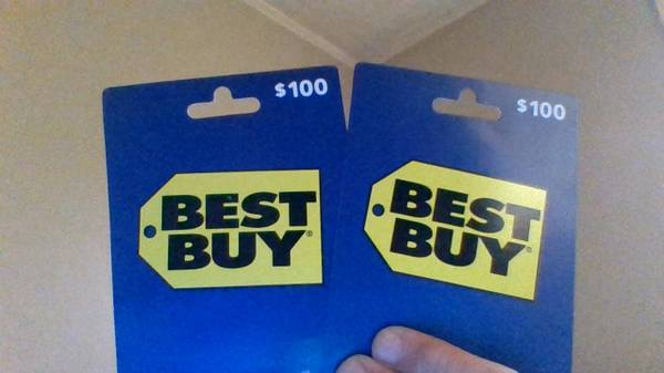 Photo 2 $100 BEST BUY GIFT CARDS - $150 (HIGH POINT)