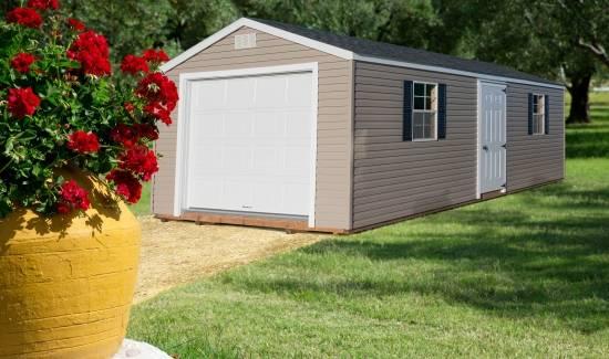 Amish Built Storage Buildings (Rocky Mount) | Garden Items ...