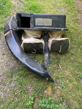 Photo Bagger attachment for John Deere riding mower - $75 (Roanoke)