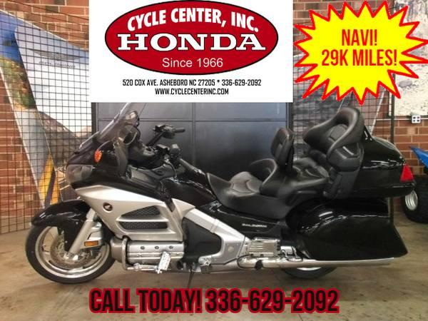 Photo C1530  2012 Honda Gold Wing  Navi  XM  Low Miles - $14,980 (Cycle Center Inc)