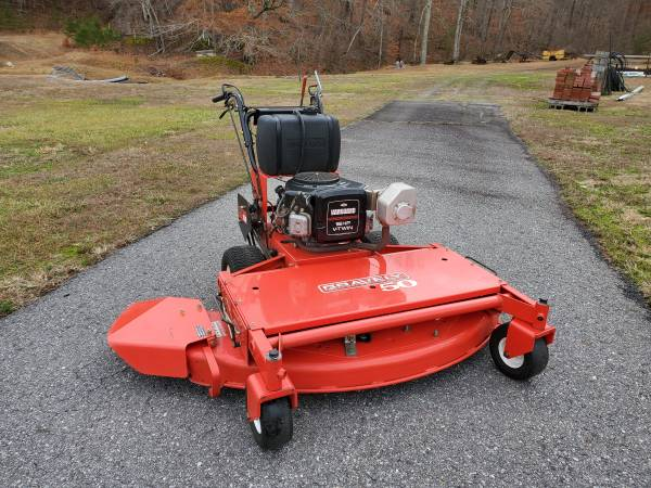 Photo Gravely Walk Behind Mower, lawn mower - $2900 (Collinsville)