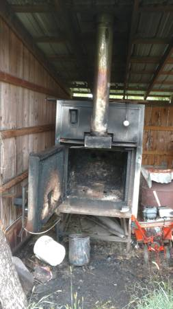 Outdoor Wood Stove Wood Furnace 1300 Materials For