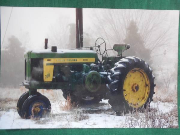 Photo Project Tractor-1957 John Deere 720 Diesel Tractor - $3,500 (Fincastle)