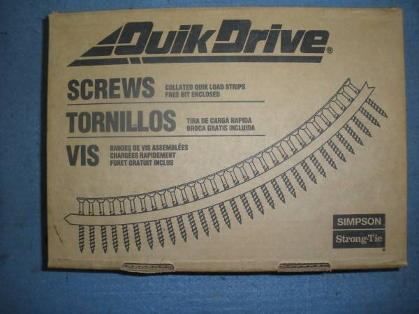 Photo Quik Drive drywall attachment with screws. - $50 (Smith Mountain Lake)